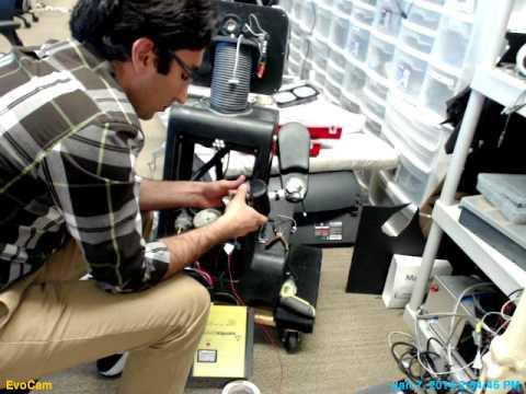 Preparing RUBI for San Jose Science Museum